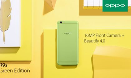 Oppo R9s Green Edition goes on pre-order in Malaysia
