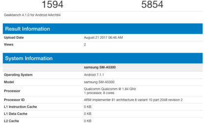 Samsung Galaxy A5 2017 specs: Powered by Snapdragon 660 chipset and 6GB RAM