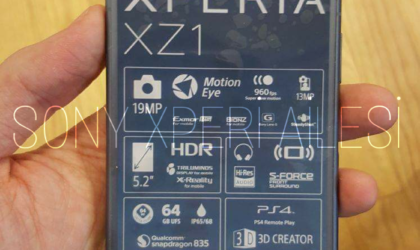 Images of Sony Xperia XZ1 leak out