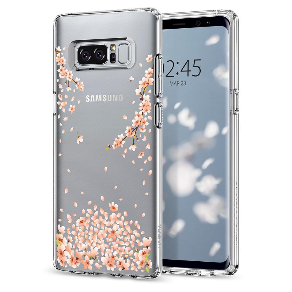 Spigen-—-Galaxy-Note-8-Case-Liquid-Crystal-Blossom