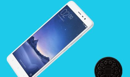 How to install Android 8.0 Oreo on Xiaomi Redmi Note 3 [AOSP ROM]