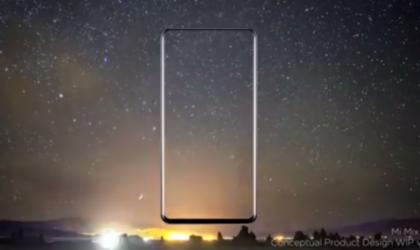 Xiaomi Mi Mix 2 design revealed in a video