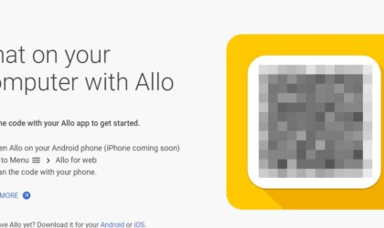 How to use Google Allo on PC via web and desktop client