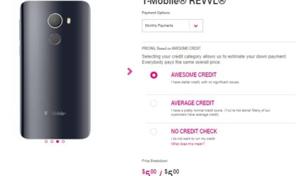 T-Mobile launches own budget friendly Nougat phone, Revvl available for $5/month