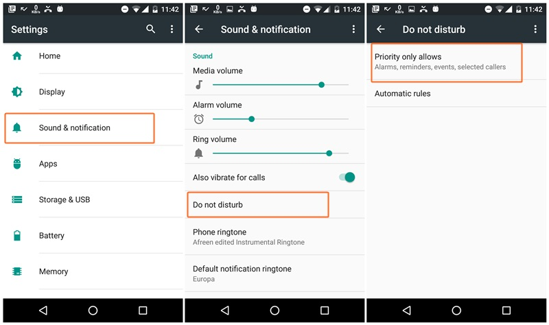 donot-disturb-mode-android