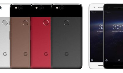 Google Pixel 2 renders leaked with thick bezels