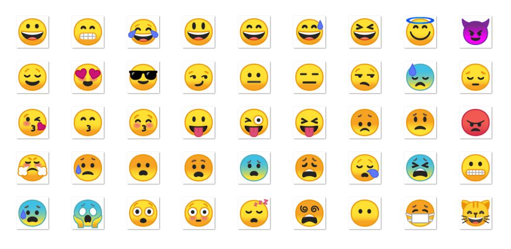 Android Oreo Emoji pack