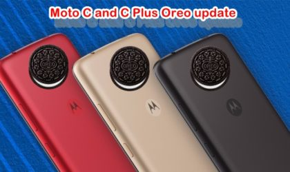 Moto C and C Plus Oreo update: All news and expected release date