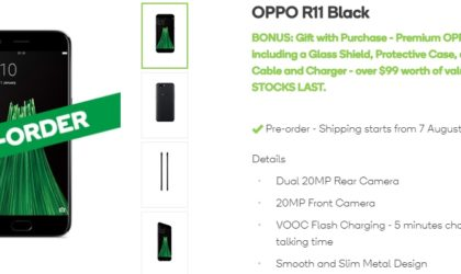 Oppo R11 becomes available on pre-order in Australia