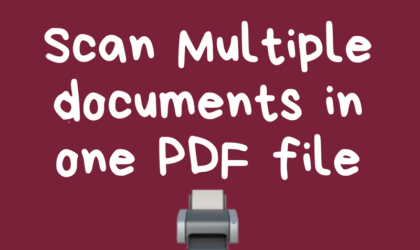 How to save multiple scans in one PDF file using Microsoft Office Lens Android app