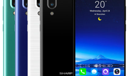Sharp Aquos S2 launched with a tri-bezel design and Essential Phone-like cutout on top