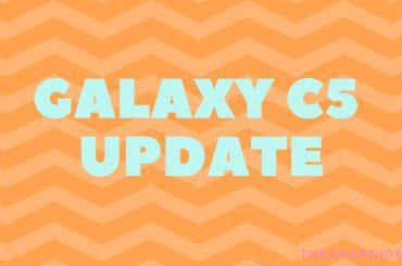 Samsung Galaxy C5 update