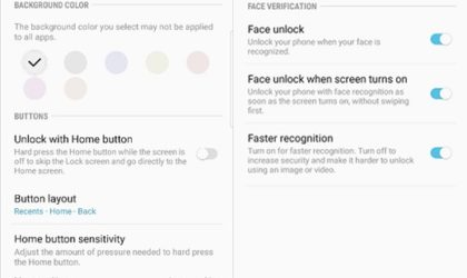 Verizon Galaxy S8 and S8+ update brings navigation bar hide and faster face recognition