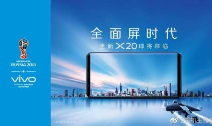 Vivo X20 leaks out