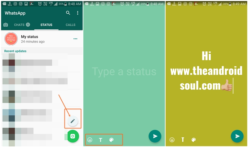 whatsapp-text-status-how-to-use-it