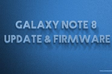 Galaxy Note 8 Oreo update