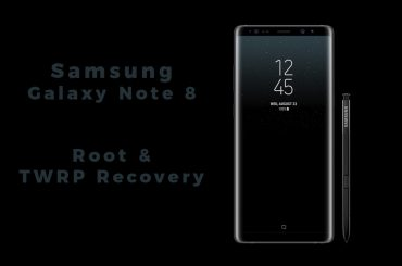 Galaxy Note 8 root and twrp recovery