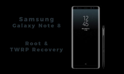 [Download] Galaxy Note 8 Root and TWRP Recovery