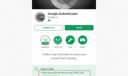Google Authenticator gets backup and restore on Android devices