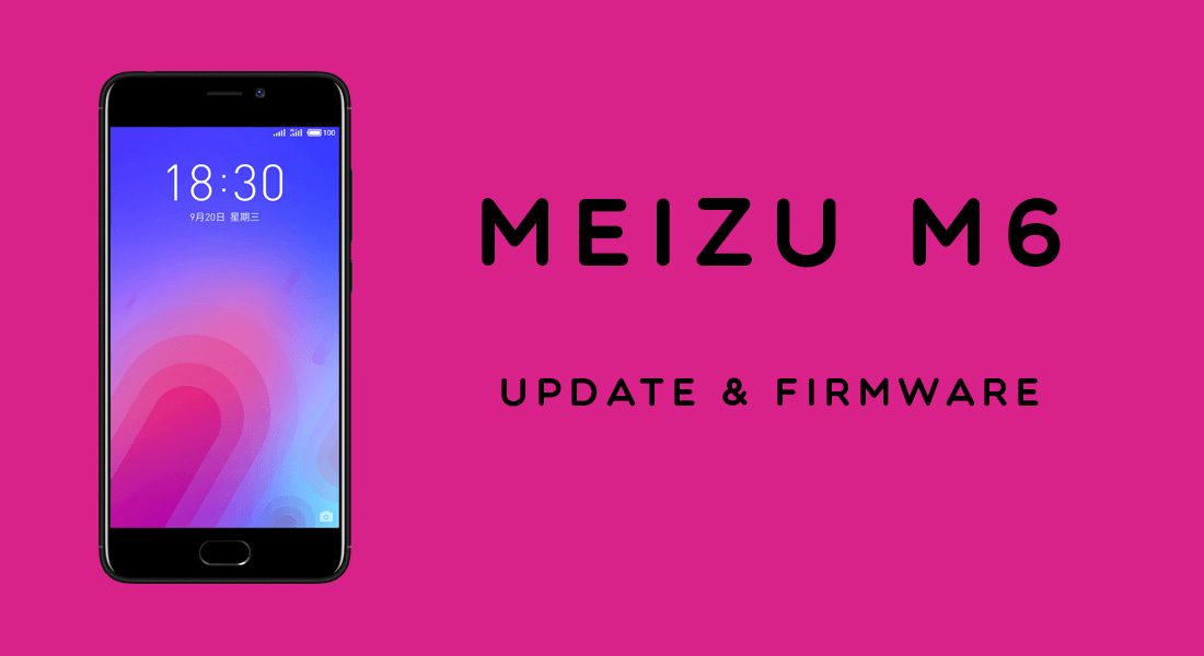 Download Meizu M6 firmware