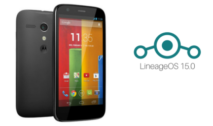 Moto G1 3G and LTE LineageOS 15.0 ROM based on Android 8.0 Oreo available for download