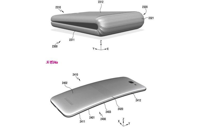Samsung-Galaxy-X-foldable-phone-patent-korea