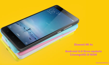 Xiaomi Mi 4c gets Android 8.0 Oreo update thanks to LineageOS 15