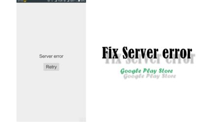 """How to fix """"Server error"""" in Play Store app"""