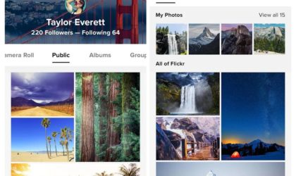 Flickr app now lets you start group discussions and reply to comments