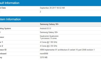 Galaxy S8 Plus Oreo beta could arrive soon, spotted running Android 8.0.0