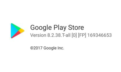 New Google Play Store update version 8.2.38 available for download