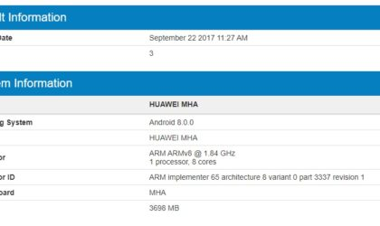 Huawei Mate 9 spotted running Android 8.0 Oreo update, could release soon