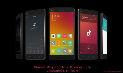 Xiaomi Mi3 and Mi4 get Android 8.0 Oreo update thanks to LineageOS 15 ROM [Download]