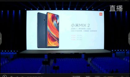 Xiaomi Mi Mix 2 and Mi Note 3 pricing leaks ahead of launch