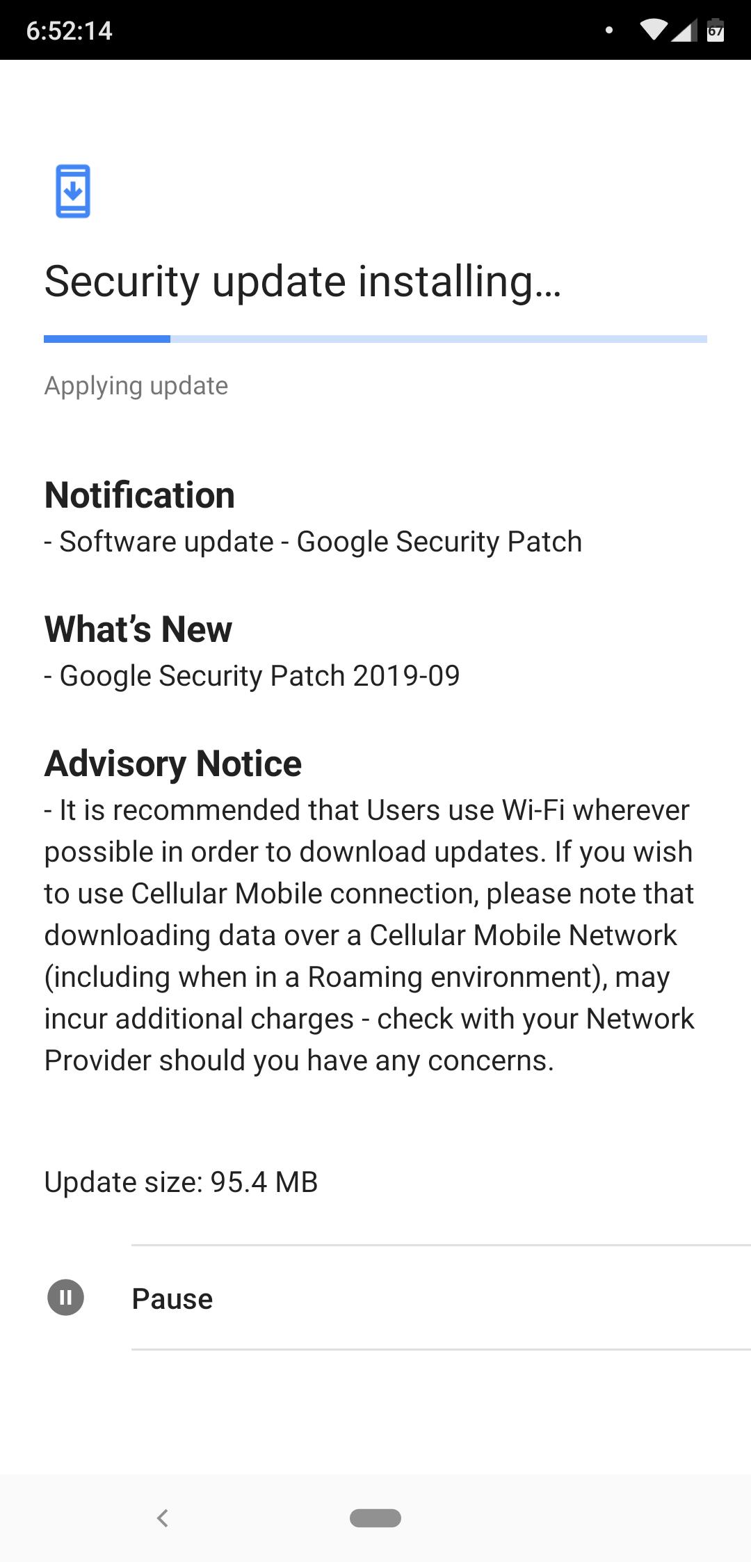 Nokia 8.1 September update