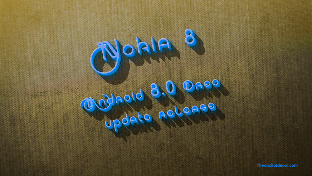 nokia 8 Oreo release and download