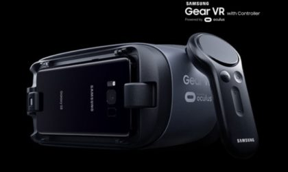 Galaxy S8 Gear VR headset actually works fine for the Note 8 as well