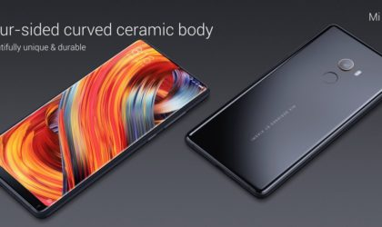 Xiaomi Mi Mix 2 launched with 5.99 inch (18:9) display, Snapdragon 835 processor and 6GB RAM