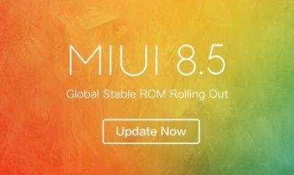 Xiaomi Mi5 and Mi5 Pro get new update with version 8.5.3.0.NAAMIED