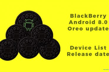 BlackBerry Oreo update