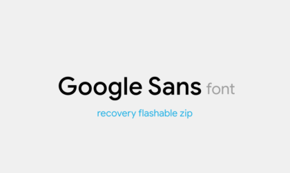 How to install Google Product Sans font on any Android device [Root]