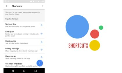 How to create Google Assistant shortcuts