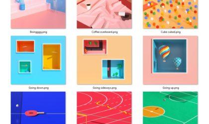 Download Pixel 2 wallpaper (Keep Looking, Underwater, Rainy day)