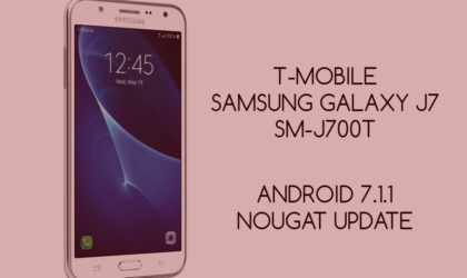 T-Mobile releases Nougat update for its Galaxy J7 [Android 7.1.1]