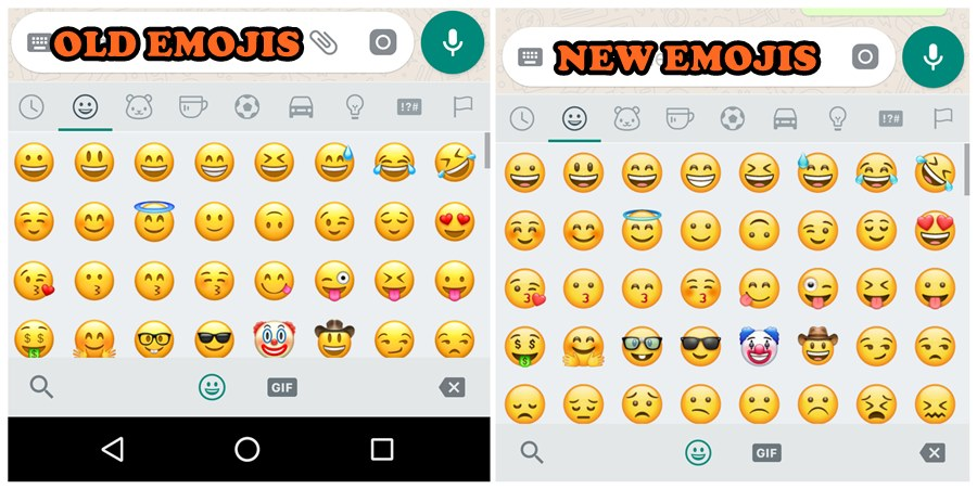 Brace yourselves, WhatsApp has redesigned all the emojis ...