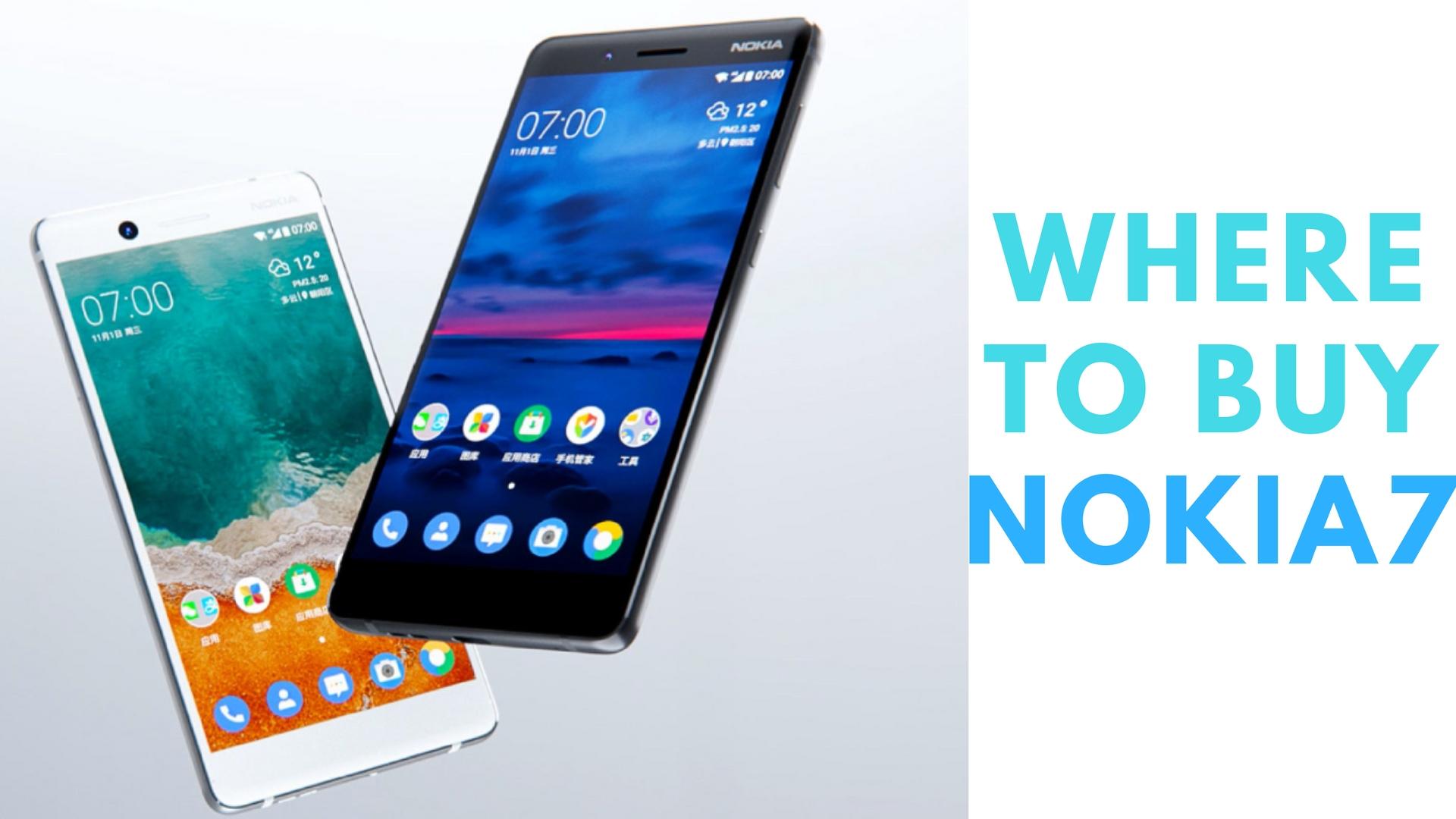Where to Buy Nokia 7