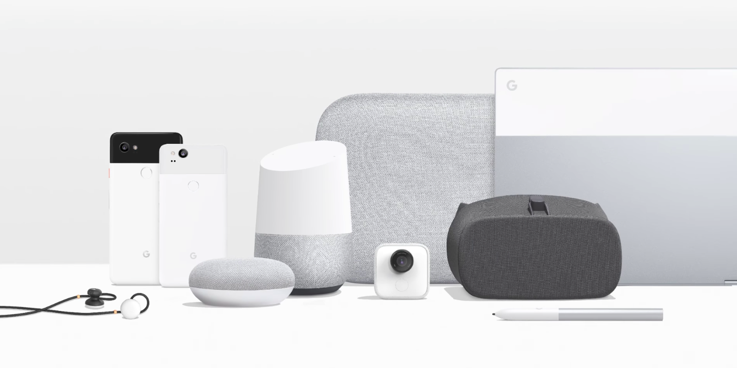 google launches home mini home max pixel buds google clips and new daydream view vr headset. Black Bedroom Furniture Sets. Home Design Ideas