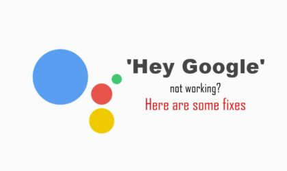 """""""Hey Google"""" not working for you? Here's how to fix it"""