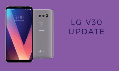 LG V30 Oreo update: Android 8.0 rolling out in Korea as beta