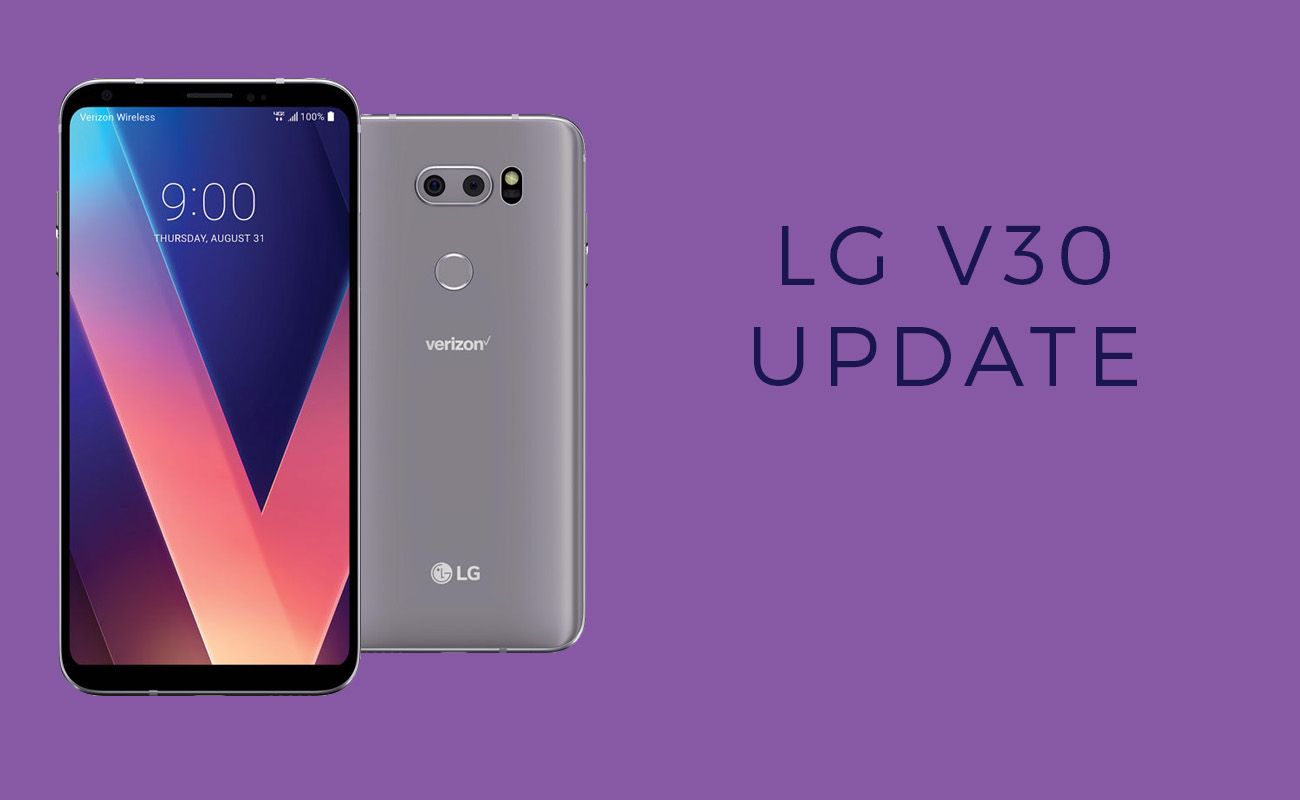 LG V30 Android Pie update: Now available in Korea an Europe, coming